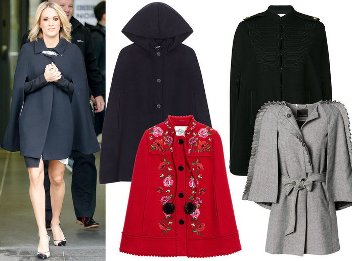 Carrie Underwood Winter Coat