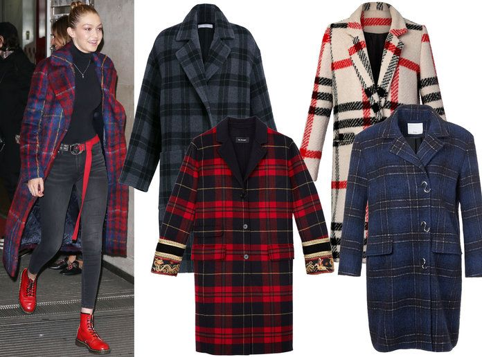 Gigi Hadid Winter Coat
