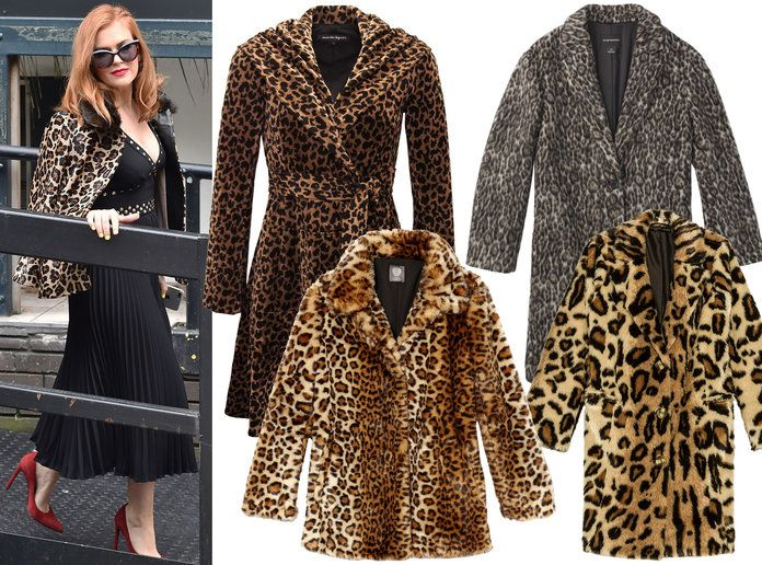 Isla Fisher Winter Coat