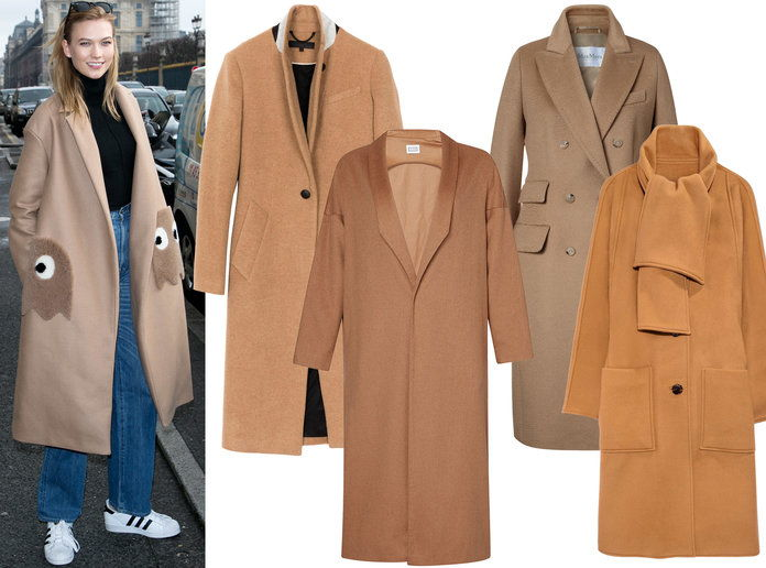 Karlie Kloss Winter Coat