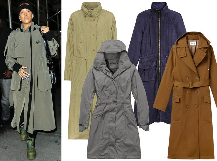 Rihanna Winter Coat