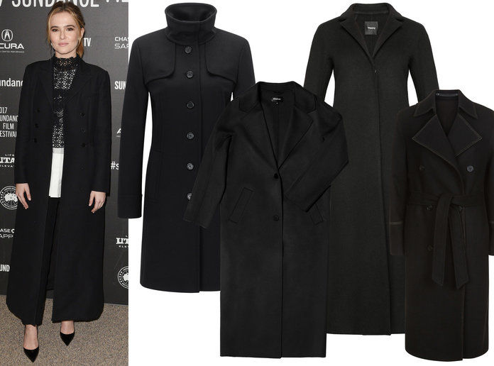 Zoey Deutch Winter Coat