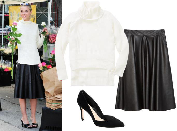 Celebrity-inšpiroval work outfits: Jaime KIng