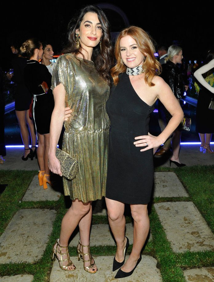 Amal Clooney and Isla Fisher