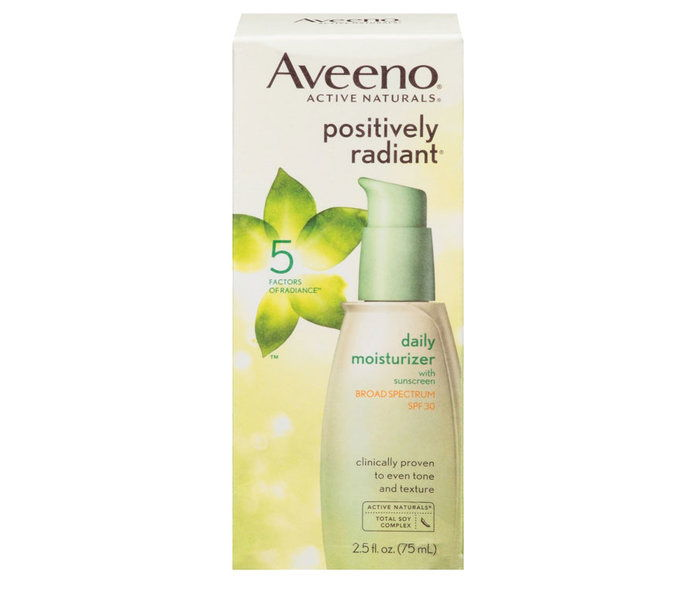 Awal 20s: Aveeno Positivily Radiant Daily Facial Moisturizer With SPF 50