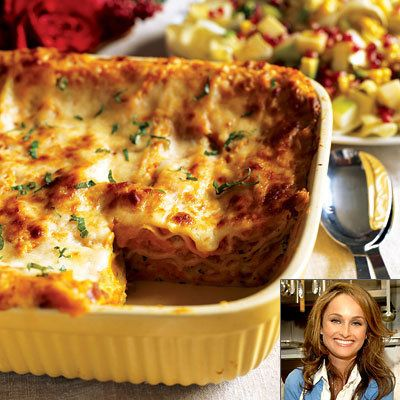 Giada De Laurentiis, Butternut Squash Lasagne, Thanksgiving Recipes