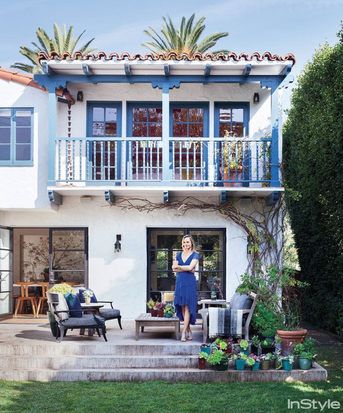Amber Valletta Home - Outdoor Space