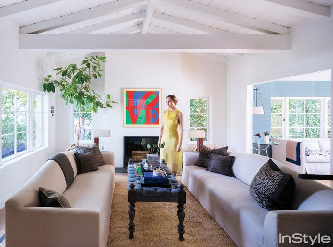 Amber Valletta Home - Living Room