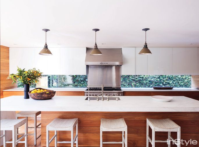 Amber Valletta Home - Kitchen