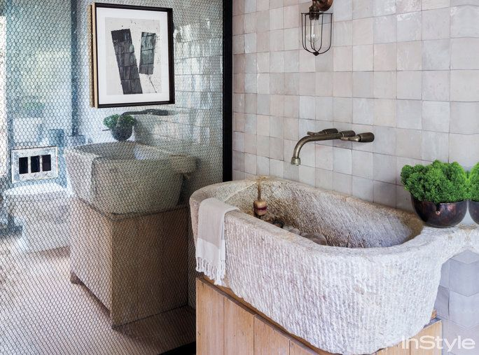 Amber Valletta Home - Bathroom