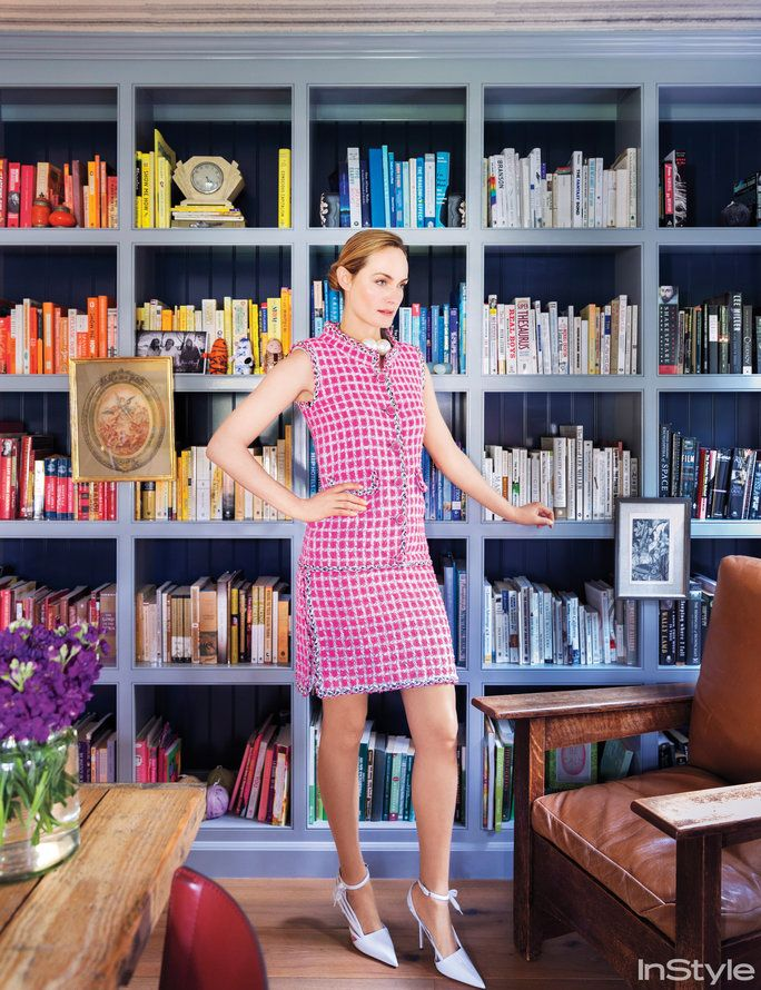 Amber Valletta Home - Bookshelves