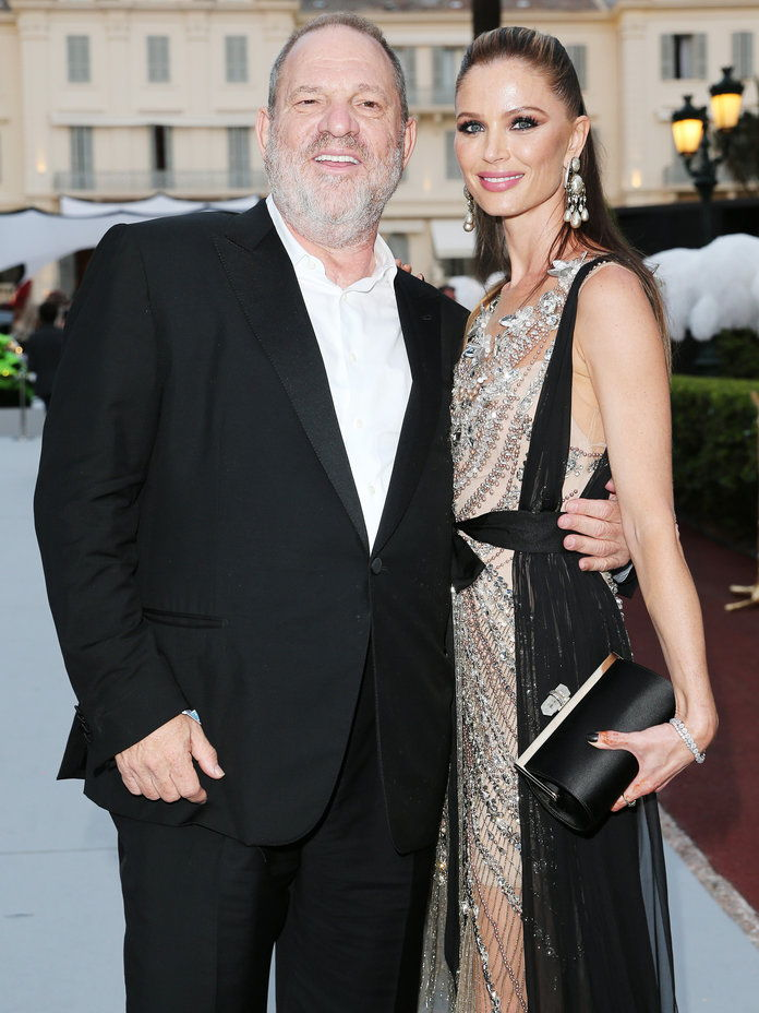 Harvey Weinstein and Georgina Chapman - Lead