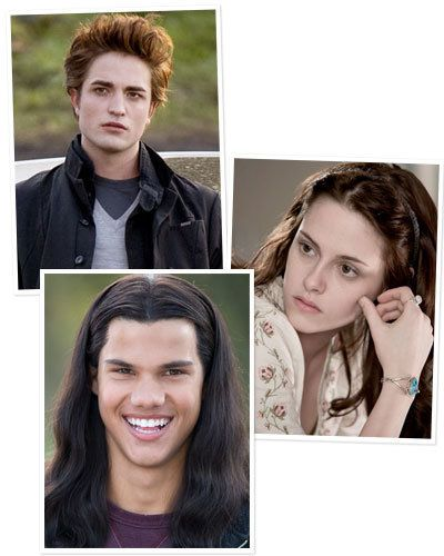 Twilight - Transformations - Robert Pattinson - Kristen Stewart - Taylor Lautner