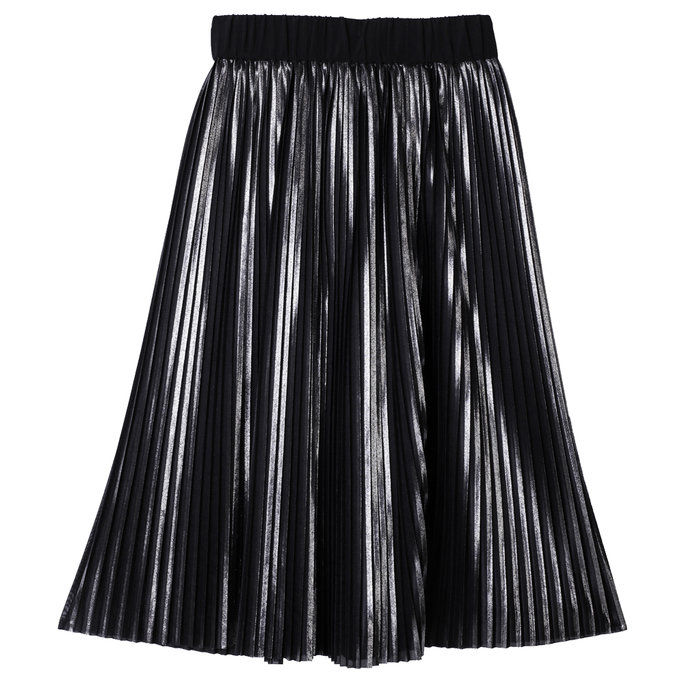 Metallico Pleated Skirt