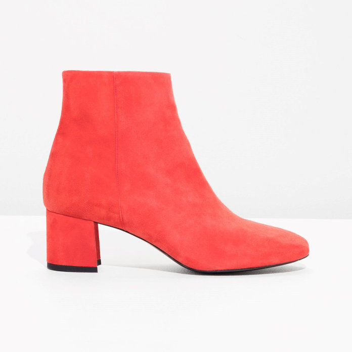 Bright Red Booties