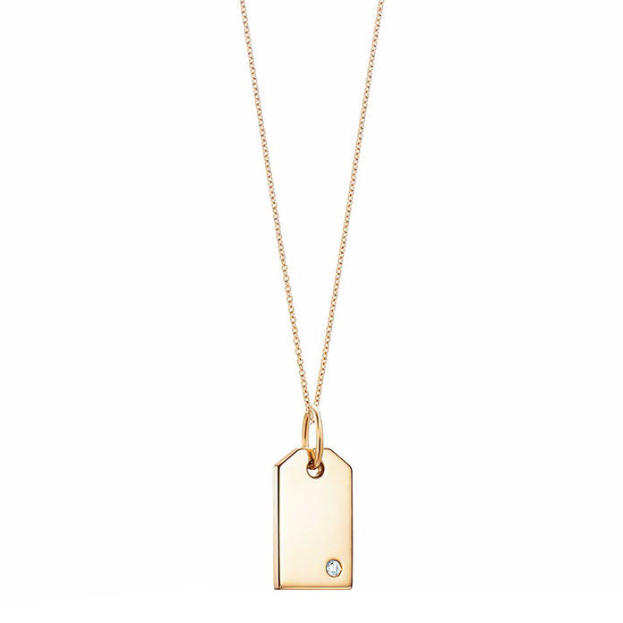 Emas Pendant Necklace With Diamond