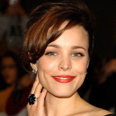 rosso lipstick, make up, Lancome Rouge Sensation Lipstick in Ambrette, Rachel McAdams, daily beauty flash