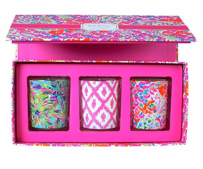 Lilly Pulitzer VOTIVE CANDLE SET
