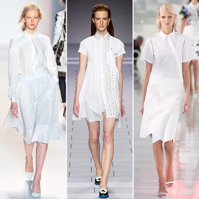 Primavera/Summer 2014 Trend: White Shirts