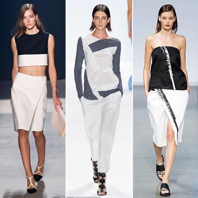 Primavera/Summer 2014 Trend: Black & White