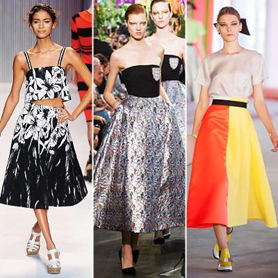 Primavera/Summer 2014 Trend: Full Skirts