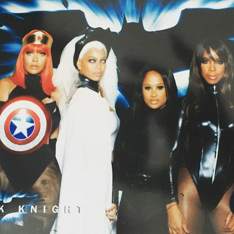 Beyonce - Kelly Rowland - Costume Instagram - Embed