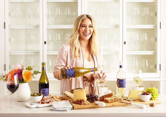 Hilary Duff Callie Wines - Embed