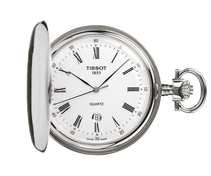 TISSOT SAVONNETTE QUARTZ Pocket Watch