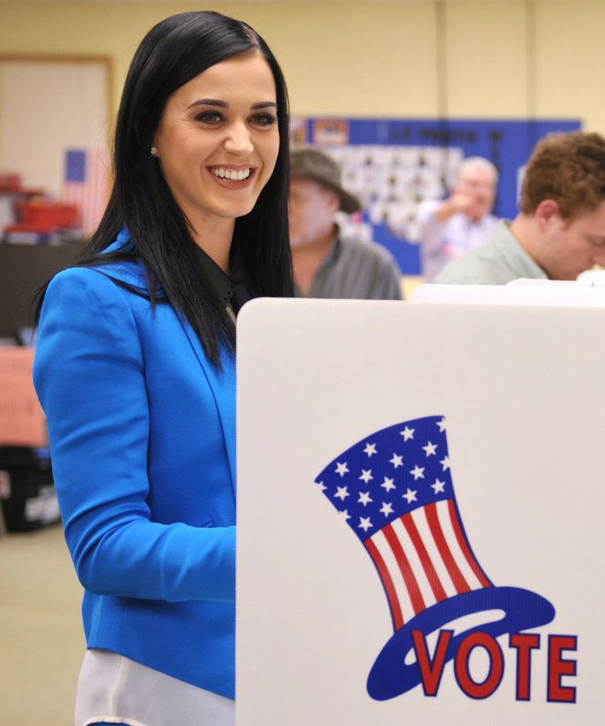 Katy Perry Voting