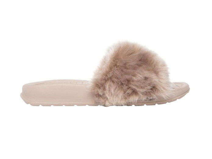 The Kids Supply Faux Fur Slides