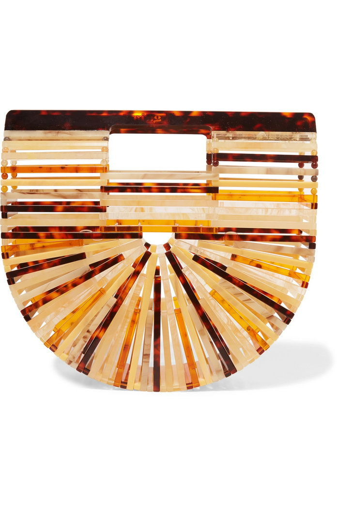 archa mini acrylic clutch
