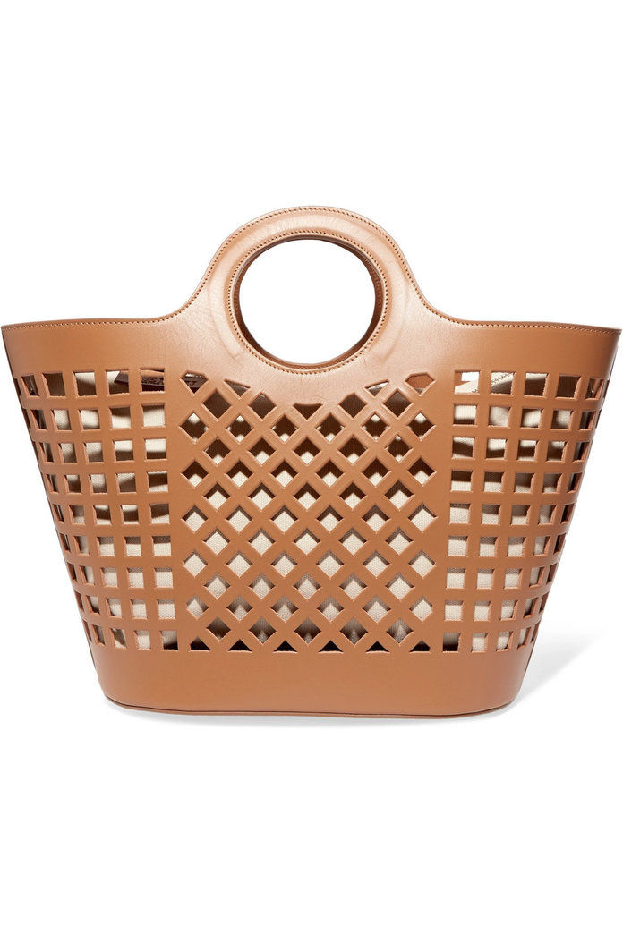 Colmado cutout leather tote