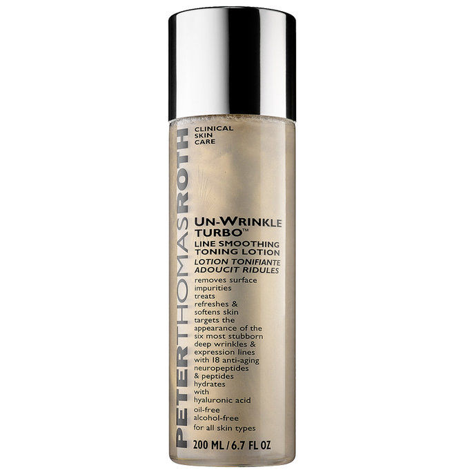 Anti penuaan: Peter Thomas Roth Un-Wrinkle Turbo Line Smoothing Toning Lotion