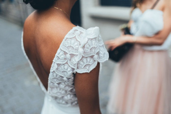 Custom Wedding Dress - Embed