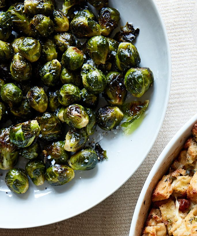 Panggang Brussels Sprouts