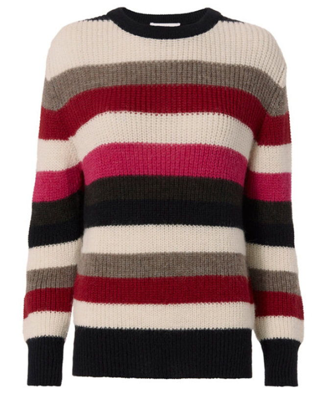 IRO Solal Stripe Sweater