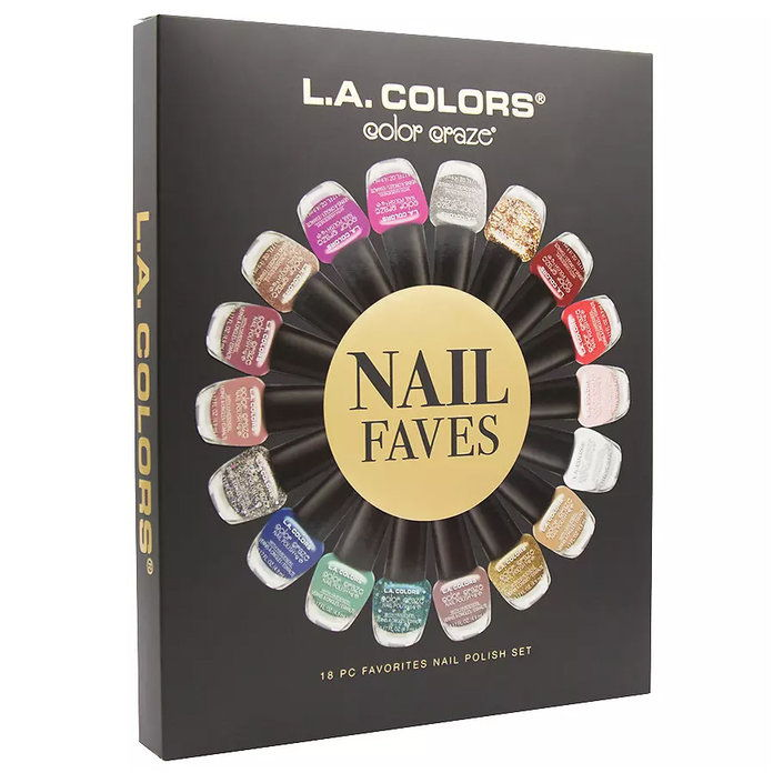 L.A. Colors Nail Favorites Gift Set