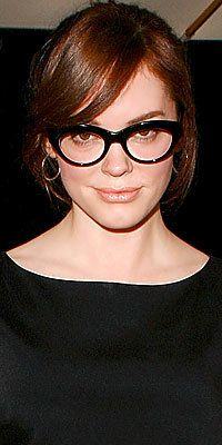 Rosa McGowan, Glasses, The Look, trends