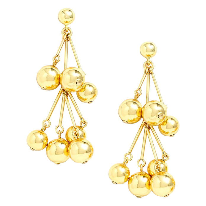 kaskáda Ball Earrings