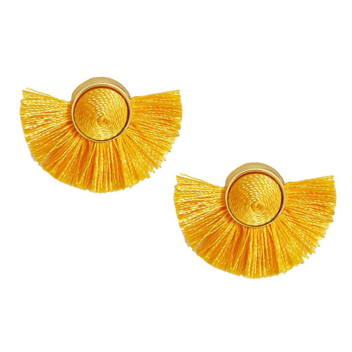 tango Fringe Stud Earrings