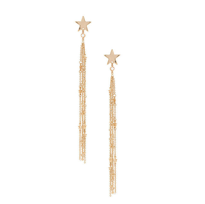 Streľba Star Tassel Earrings