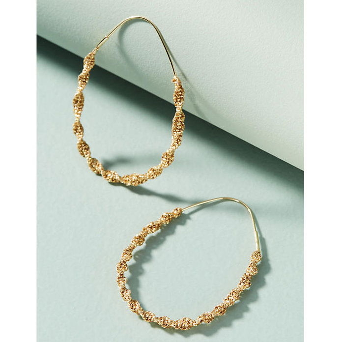 stočený Hoop Earrings
