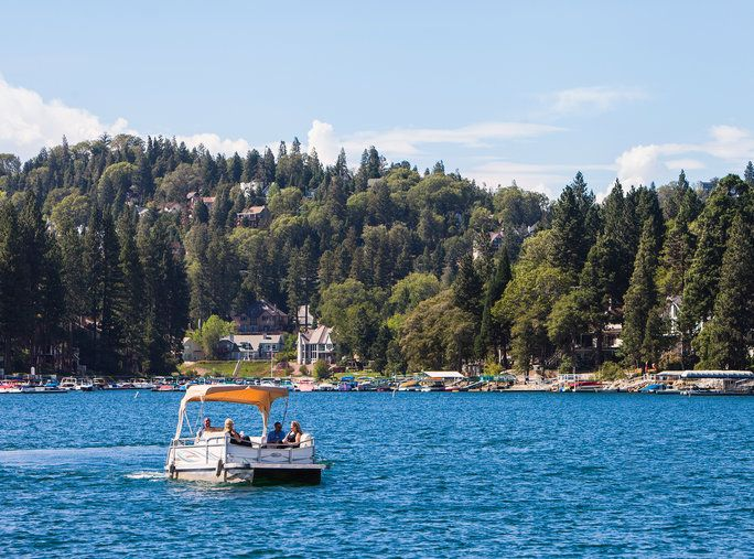 Perjalanan Deals - Lake Arrowhead
