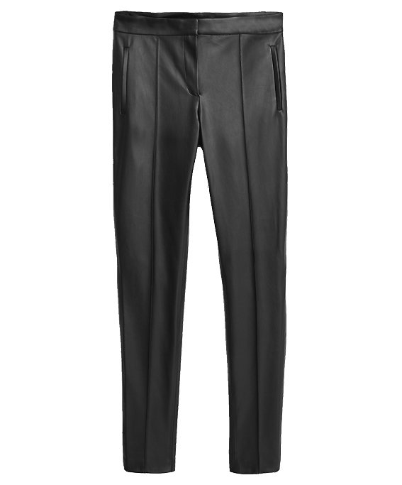 Mango Polyester Pocket Slim Trousers