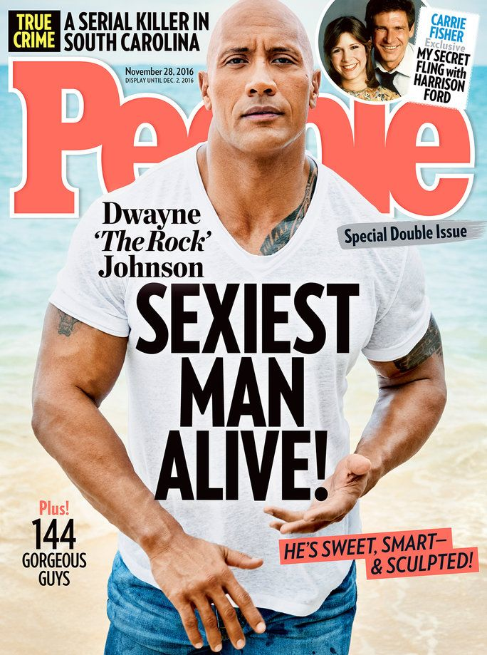 The Rock People's Sexiest Man Alive - Embed