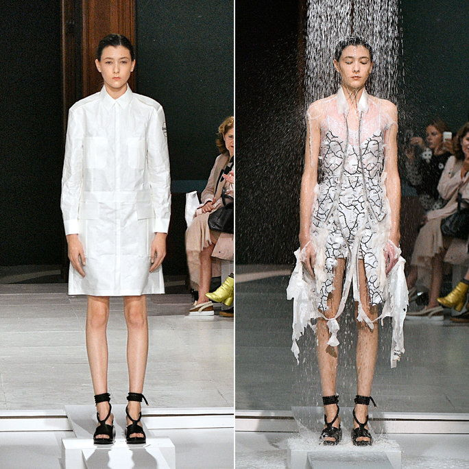 hussein Chalayan dissolving clothing