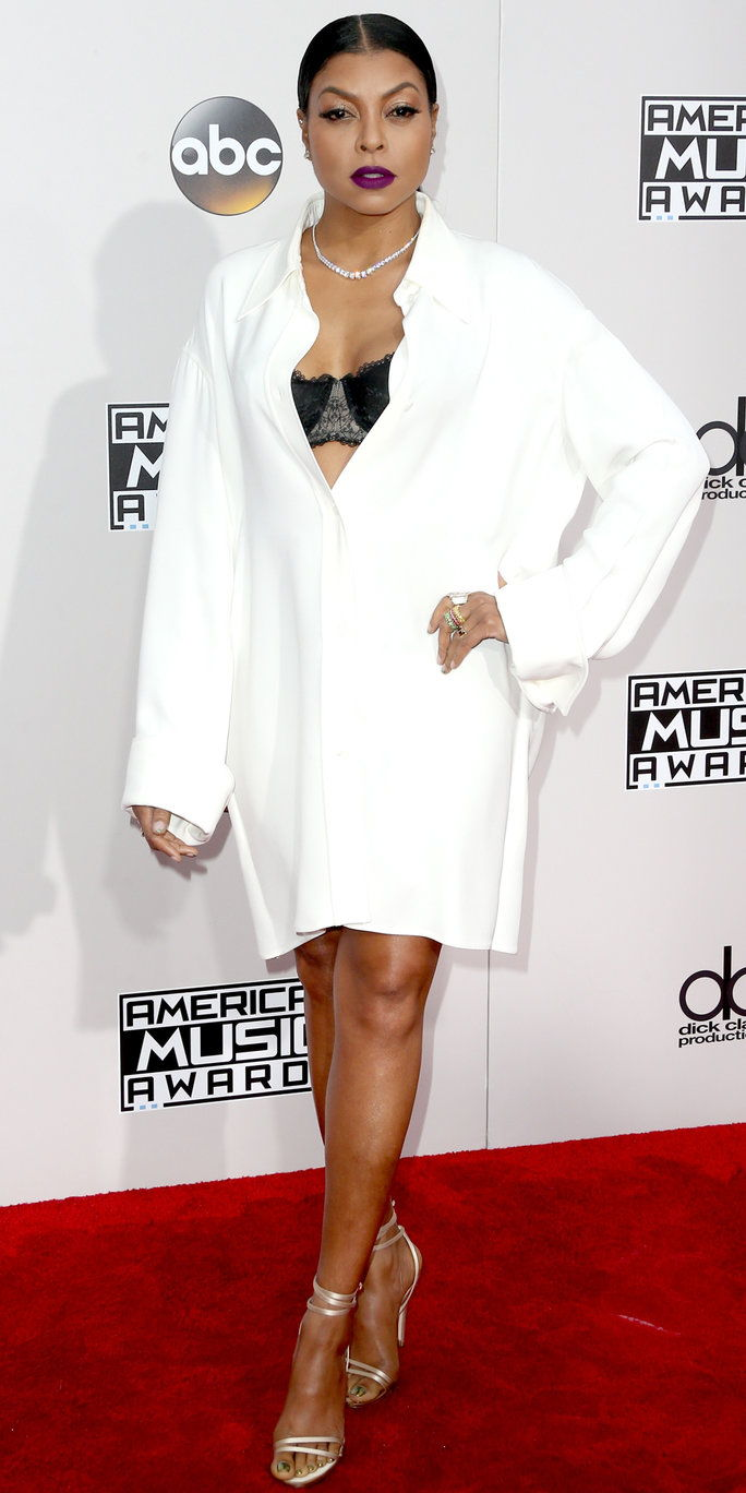 Attrice Taraji P. Henson attends the 2016 American Music Awards at Microsoft Theater on November 20, 2016 in Los Angeles, California.