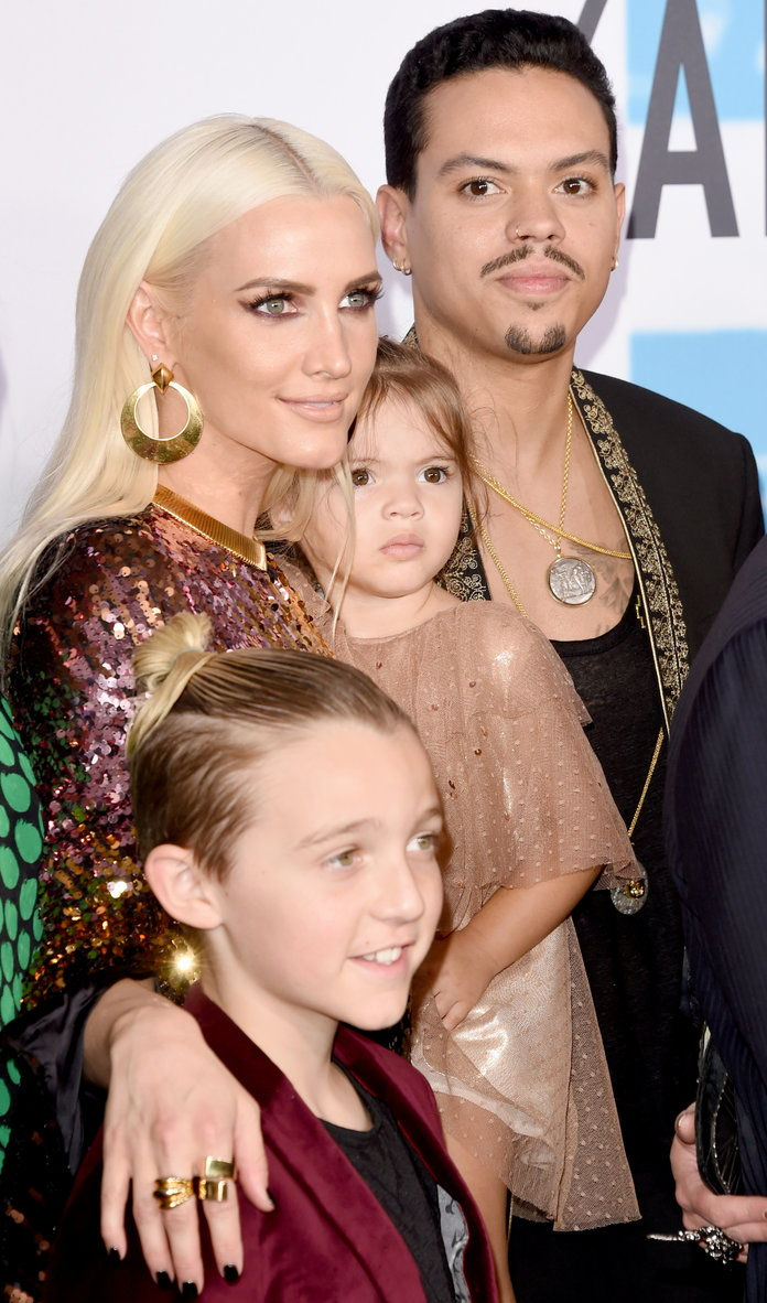 Evan Ross and Ashlee Simpson Embeds ADD - 2