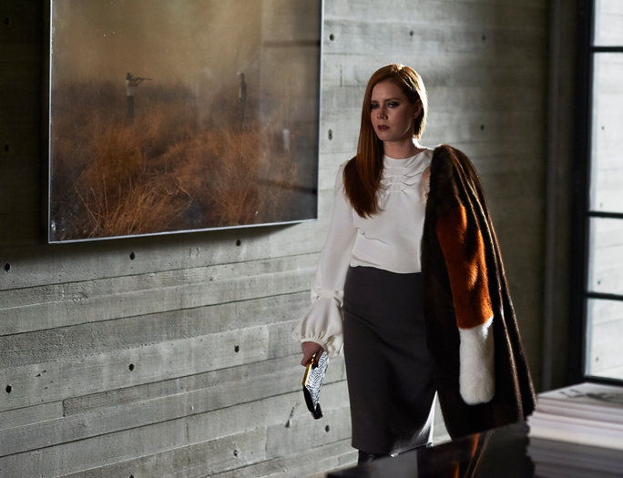 akadémie Award nominee Amy Adams stars as Susan Morrow in writer/director Tom Ford's romantic thriller NOCTURNAL ANIMALS, a Focus Features release.Credit: Merrick Morton/Focus Features