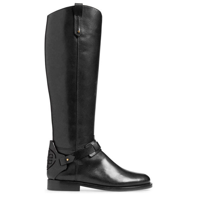 tvrdý klobúk Leather Riding Boot